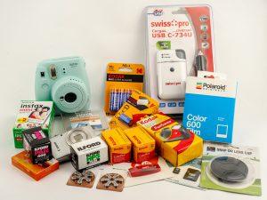 Pellicole foto e batterie